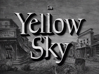 Yellow Sky (1948) Gregory Peck - Blu-ray movie title