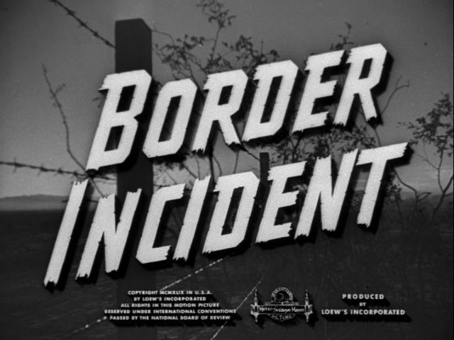 Image result for border incident 1949 ricardo