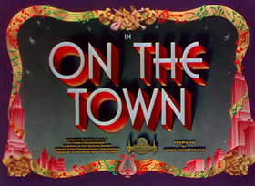 On the Town (1949) Frank Sinatra - Blu-ray movie title