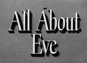All About Eve (1950) Bette Davis - blu-ray movie title