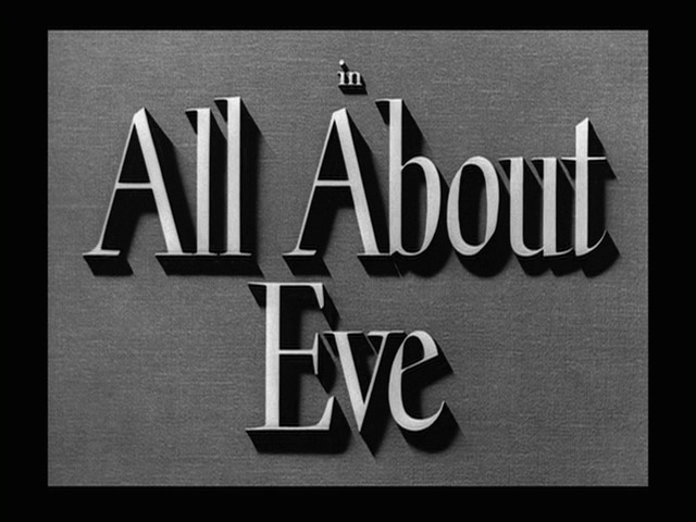 All About Eve movie title