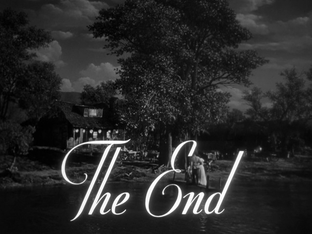 Father Is a Bachelor (1950) The End
