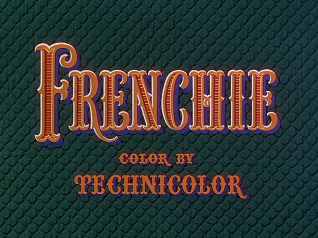 Frenchie (1950) movie title