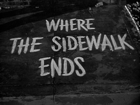 Where the sidewalk ends (1950) Otto Preminger - blu-ray movie title