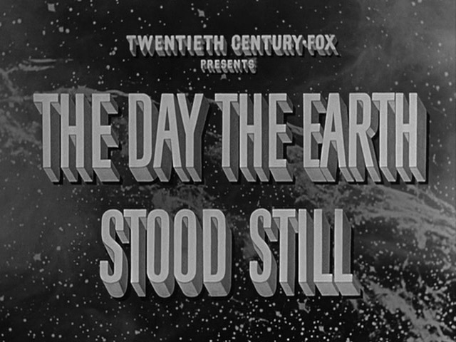 The Day the Earth Stood Still 1951 movie title