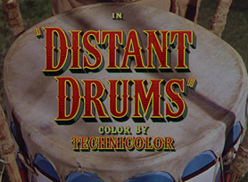 Distant Drums (1951) Gary Cooper - Blu-ray movie title
