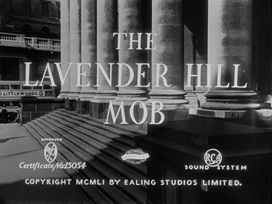 The Lavender Hill Mob (1951) Audrey Hepburn - blu-ray movie title