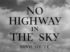No Highway in the Sky (1951) Marlene Dietrich - Blu-ray movie title