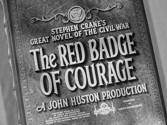 red badge of courage essay titles