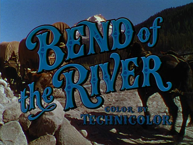 Bend of the river (1952) movie title