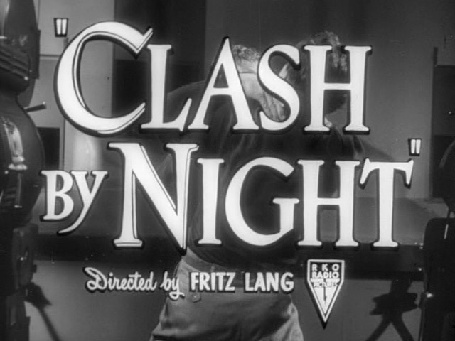 Clash by night movie trailer title