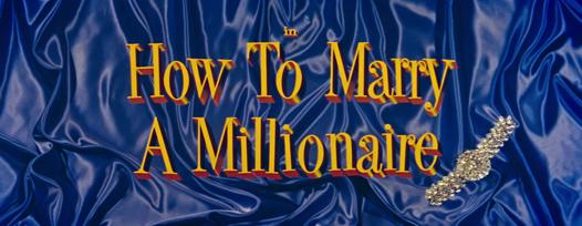 How to Marry a Millionaire (1953) Marilyn Monroe - blu-ray movie title
