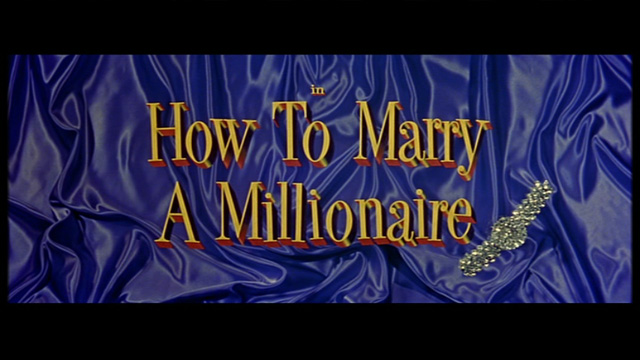 How to Marry a Millionaire movie title