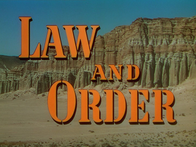 Law and Order (1953) movie title