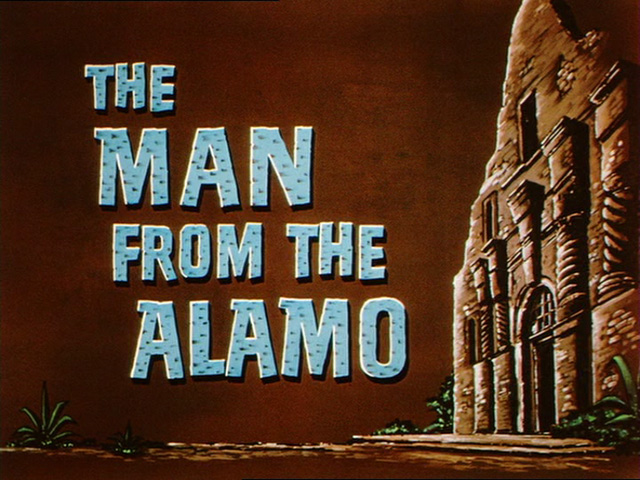 The Man from the Alamo (1953) movie title