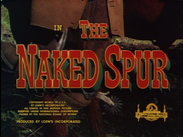 The Naked Spur 1953 movie title