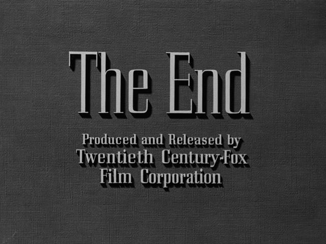Pickup on South Street (1953) The End