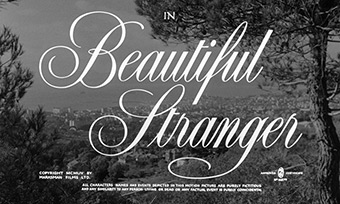 Beautiful Stranger (1954) Ginger Rogers - blu-ray movie title