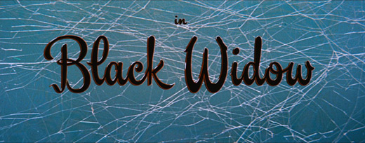 Black widow (1954) Ginger Rogers - HD movie title