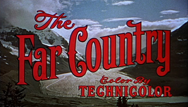 The far country (1954) movie title