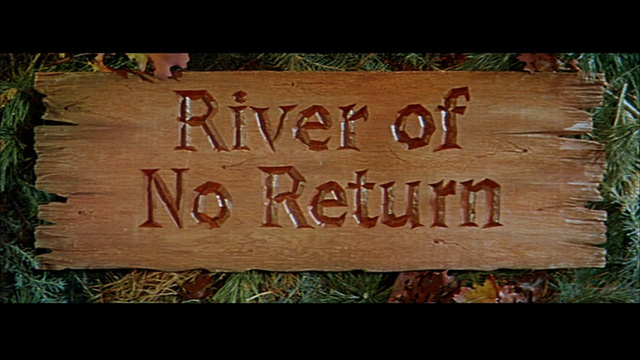 River of No Return movie title