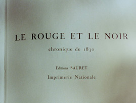 Le rouge et le noir / The Red and the Black (1954) Claude Autant-Lara - blu-ray movie title