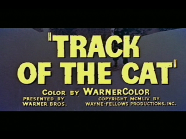 Track of the Cat movie trailer title
