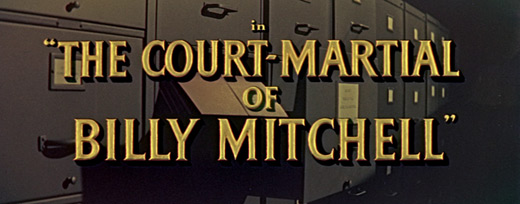 The Court-Martial of Billy Mitchell (1955) Blu-ray movie title