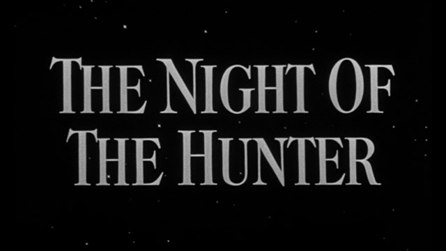 The night of the hunter 1955 movie title
