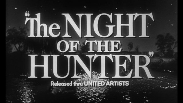The night of the hunter movie trailer title