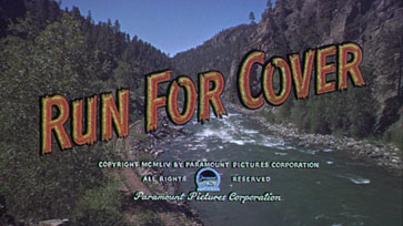 Run for Cover (1955) movie title