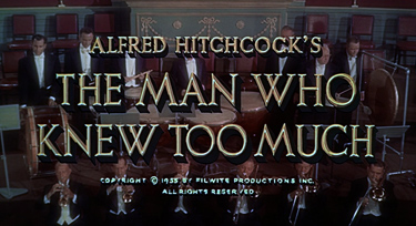 The Man Who Knew Too Much (1956) James Stewart - Blu-ray movie title