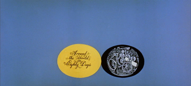 Saul Bass Around the world in eighty days 1956 title sequence