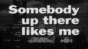 Somebody Up There Likes Me (1956) Blu-ray movie title