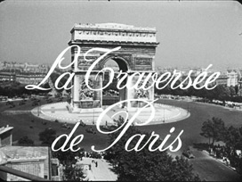 La traversée de Paris (1956) Claude Autant-Lara - blu-ray movie title
