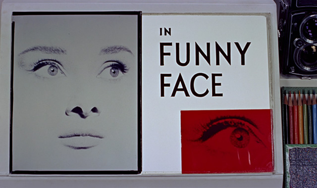 Funny Face (1957) Audrey Hepburn Fred Astaire opening credits