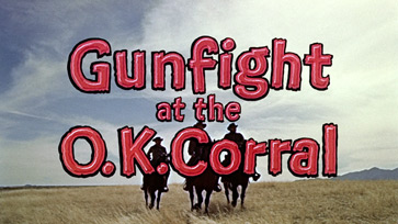 Gunfight at the O.K. Corral (1957) Burt Lancaster - blu-ray movie title