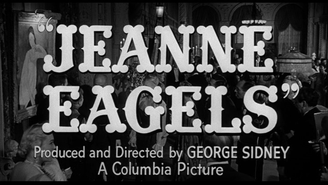 Jeanne Eagels movie trailer title