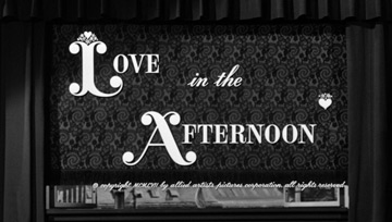 Love in the Afternoon (1957) Gary Cooper - Blu-ray movie title