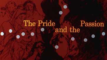 The pride and the passion (1957) Stanley Kramer - blu-ray movie title