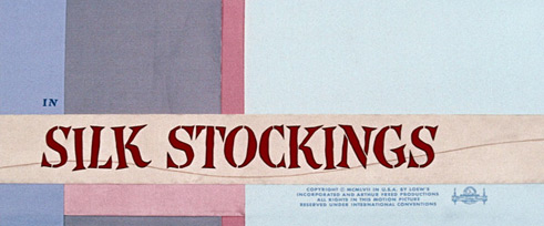Silk Stockings (1957) Fred Astaire - Blu-ray movie title