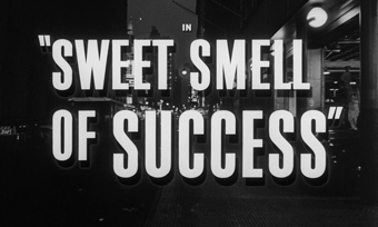 Sweet Smell of Success (1957) Burt Lancaster - blu-ray movie title