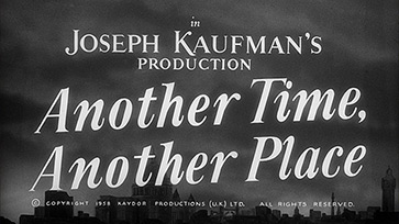 Another Time, Another Place (1958) Sean Connery - HD movie title