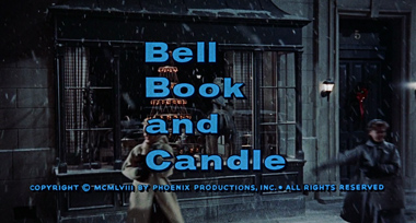 Bell Book and Candle (1958) James Stewart - blu-ray movie title
