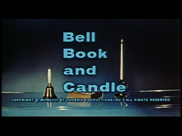 Bell Book and Candle 1958 trailer title