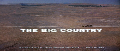 The big country (1958) Blu-ray movie title