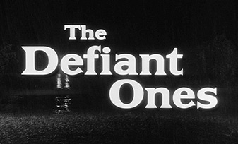 The Defiant Ones (1958) Stanley Kramer - blu-ray movie title