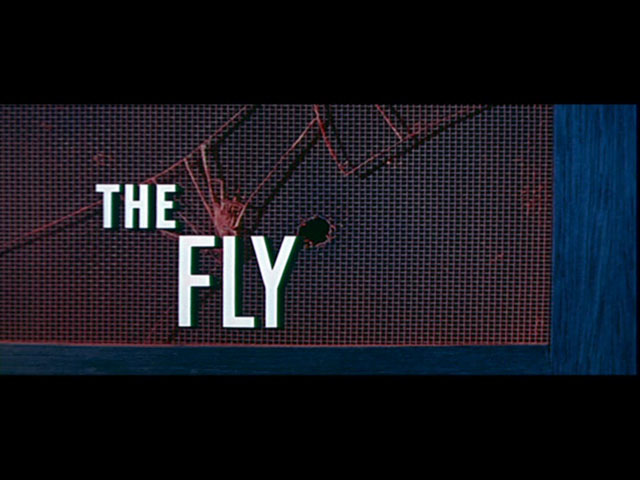 The Fly 1958 movie title