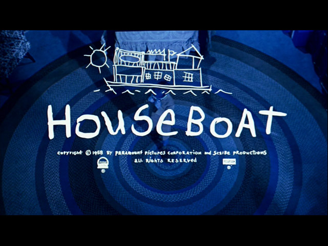 Houseboat 1958 movie title