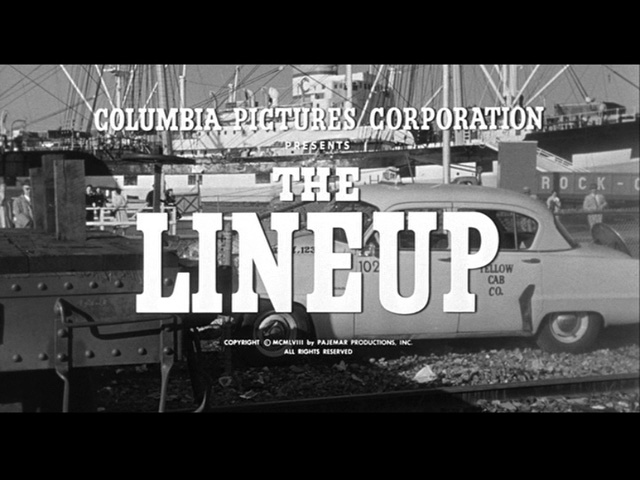 The Lineup movie title